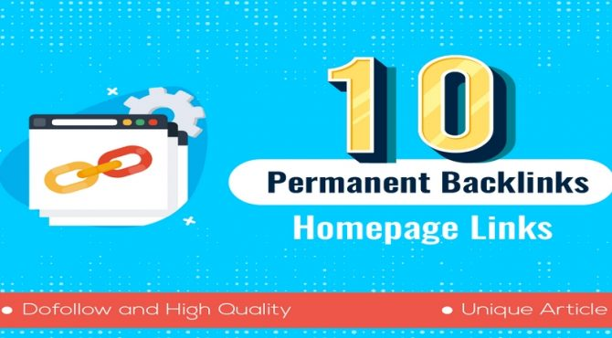 10 High Quality Permanent HomePage Dofollow PBN Links